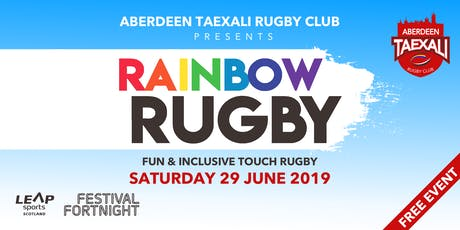 Aberdeen Taexali Presents Rainbow Rugby tickets