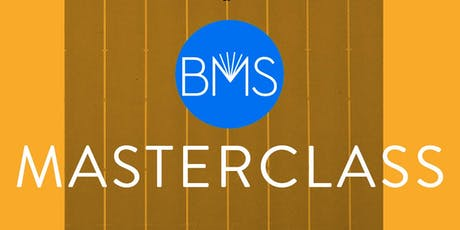 BMS Masterclass with James Spackman - YA/Crossover fiction special tickets