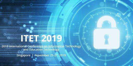International Conference on Information Technology and Education Technology (ITET 2019)