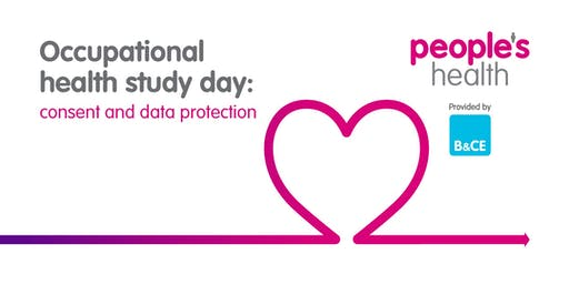 Occupational health study day: consent and data protection