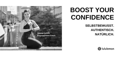 lululemon Women Speakers'Series #4 - BOOST YOUR CONFIDENCE. Tickets