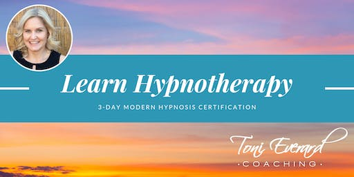 3 Day Hypnosis Certification Training