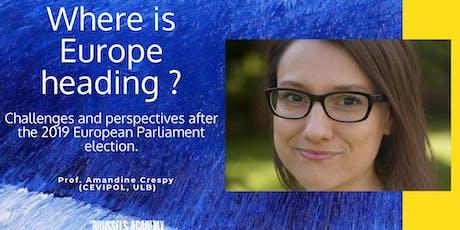 AGORA URBAN MASTER CLASS: EUROPEAN ELECTIONS (EN) tickets