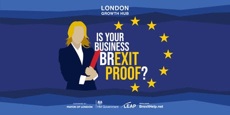 Navigating Brexit for SMEs :: Waltham Forest - General Business Session :: A Series of 75 Practical, Hands-on Workshops Helping London Businesses Prepare for and Build Brexit Resilience tickets