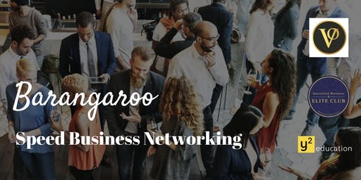 Barangaroo Speed Business networking Event ( JUNE 2019 )