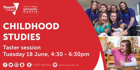 Childcare Studies, Degree-Level Qualification: Taster Session (June) tickets