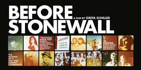 'Before Stonewall' - Norwich Pride LGBT+ fundraising film screening tickets