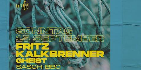 Fritz Kalkbrenner am Hafen 49 Tickets