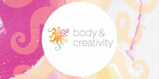 BODY & CREATIVITY WORKSHOP  - 1 day retreat - Yoga & Intuitives Malen