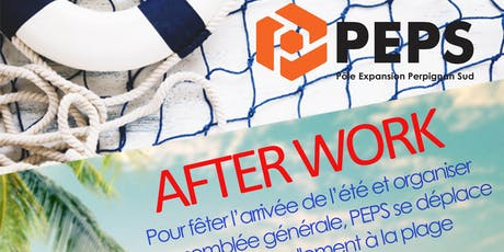 Afterwork de PEPS le 20 juin 2019 billets