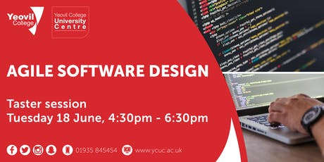 Agile Software Design, Degree-Level Qualification: Taster Session (June) tickets