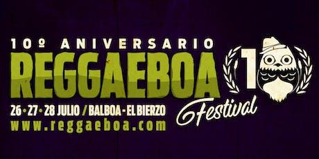 Reggaeboa Festival 2019 entradas