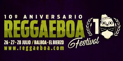 Reggaeboa Festival 2019