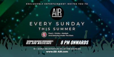 AIR [An Outdoor Experience] at Tysons Biergarten