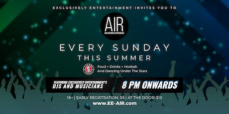 AIR [An Outdoor Experience] at Tysons Biergarten tickets