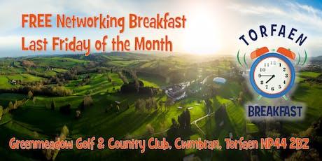 Torfaen Breakfast - June tickets