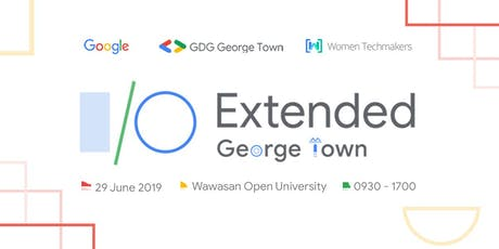 Google IO Extended George Town 2019 tickets