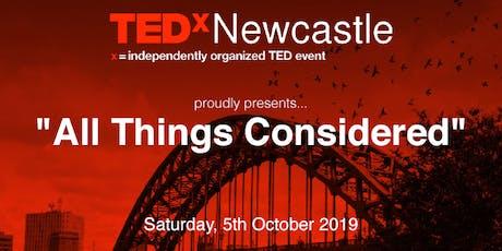 TEDxNewcastle 2019 tickets