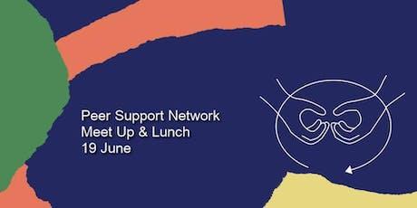 Peer Support Network Meet Up & Lunch tickets