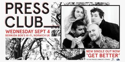 Press Club & Special Guests TBA