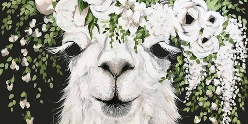 Flower Power Lama
