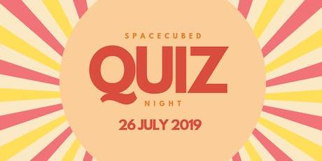 Spacecubed Members Quiz Night! tickets