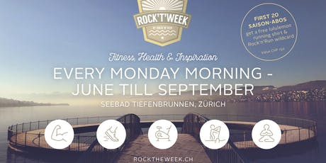 Rock't'Week - Fitness, Health & Inspiration Tickets