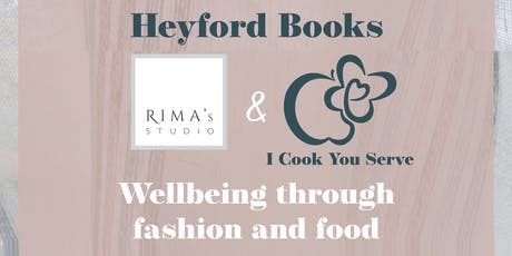 Wellbeing through Fashion and Food tickets