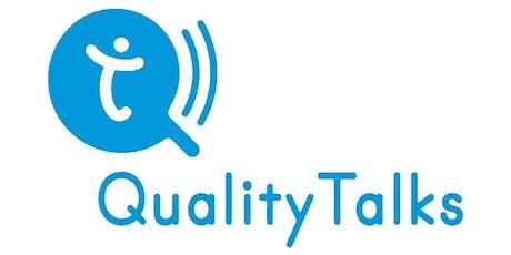 QualityTalks@ TWISPER bilhetes