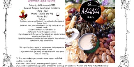 Women and Wine Party (Melbourne) tickets