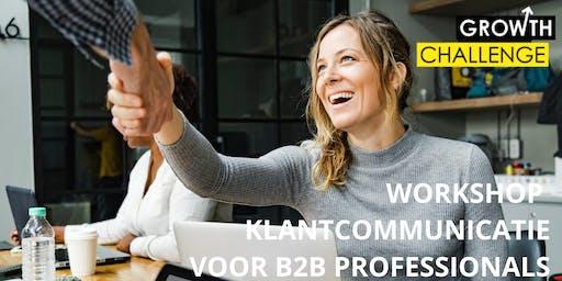 Workshop klantcommunicatie voor B2B Professionals Locatie Amersfoort