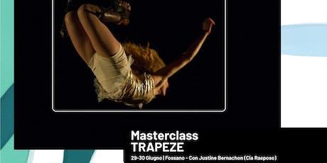 """""""Trapèze"""" Workshop con Justine Bernachon (Cia Rasposo) biglietti"""