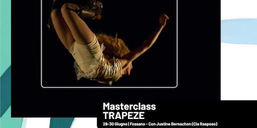 """Trapèze"" Workshop con Justine Bernachon (Cia Rasposo)"