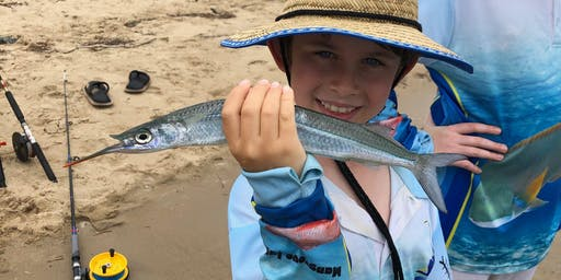 Kids School Holiday Fishing Lesson at Victoria Point