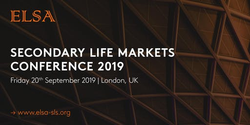 Secondary Life Markets Conference   2019