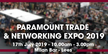 Paramount Trade Show 2019 tickets