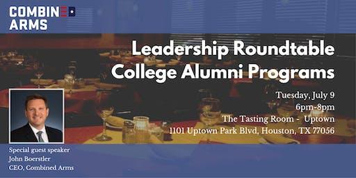 Leadership Rountable: College Alumni Programs