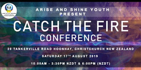 Youth Catch The Fire Conference tickets