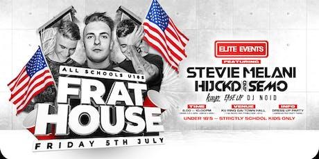 All Schools Dance : USA Frat House - SYDNEY tickets