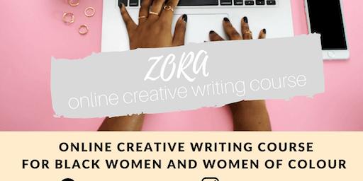 ZORA Online Creative Writing Course Black Women & WoC