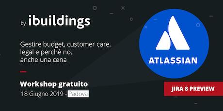 Workshop gratuito a Padova: Come gestire progetti facilmente con Atlassian biglietti