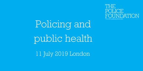 Policing and public health: A public health approach to community safety tickets