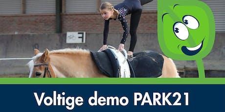Voltige demo PARK21 tickets