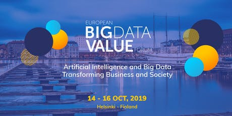 European Big Data Value Forum 2019 tickets