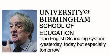 Priestley Lecture with Sir Tim Brighouse