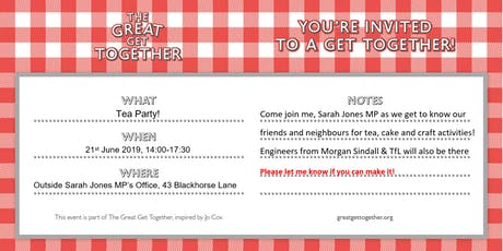 The Great Get Together - Croydon Central tickets