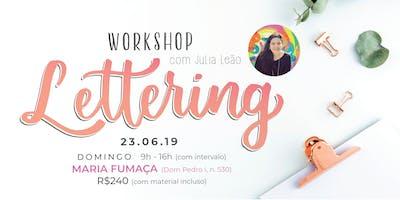 Workshop de Lettering - a partir de 16 anos