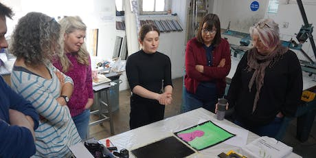 Learn Monoprinting with Caitlin Dick tickets