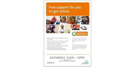 Free Support For You To Get Online @ Leytonstone Library