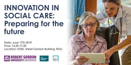 Innovation in Social Care: preparing for the future tickets